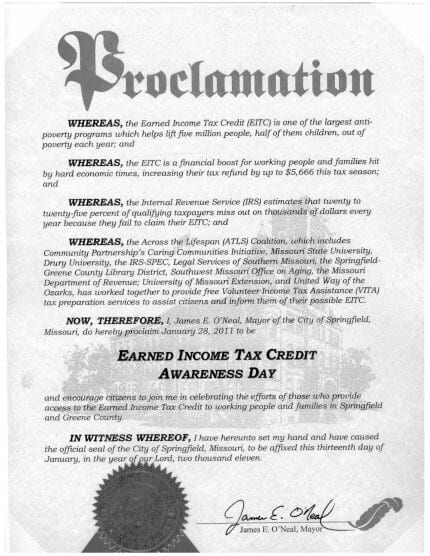 eitc-proclamation